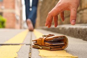 I vissa städer är det vanligare att man får tillbaka tappade prylar.