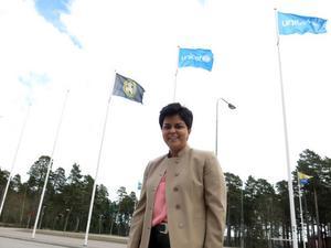 Parul Sharma, jurist med fokus på hållbarhetsfrågor.