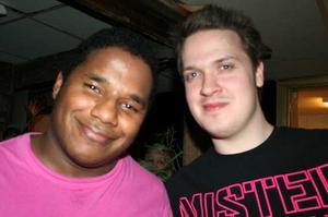 Konrad. Mike och Vincent