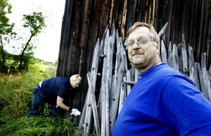 Lättad. Nej, det var inte hästmyror som vandrat in i Karl-Gunnar Berglunds förrådsbod.