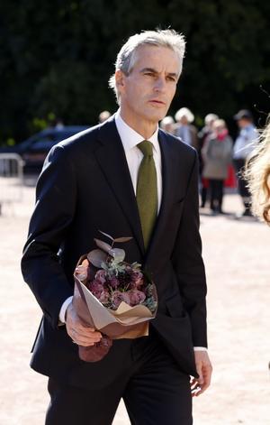 Byter post. Tidigare utrikesministern Jonas Gahr Støre (Ap) blir ny norsk hälsominster. ¿Kanske blir han partiledare efter Jens Stoltenbergfoto: scanpix