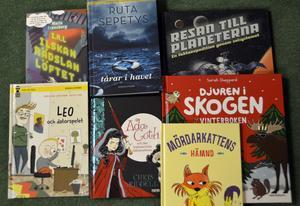 Ett urval av höstens barn- och ungdomsböcker - sistaminuten-julklappar kanske?