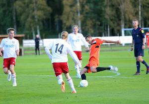 Vitalii Rudii sätter ett av sina tre mål