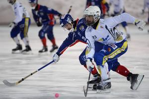 Haparandaliberon Markus Hiukka har åtskilliga landskamper för Finland på meritlistan, en tung pjäs att ta sig förbi, upptäckte bland andra Axel Froms.