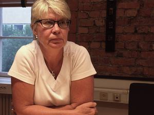 Ann-Marie Johansson är ledamot i landstingsstyrelsen och i valet kandiderar hon till posten som ordförande.