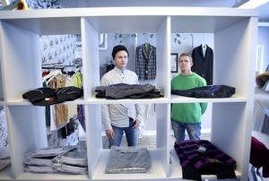 Magnus Lundgren och Harri Ahonen har många idéer för den nystartade verksamheten.