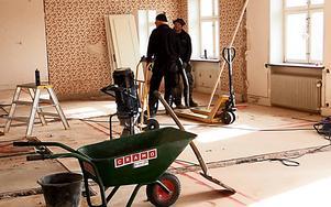 Härnösandsföretaget Jasab ansvarar för byggnadsarbetena.