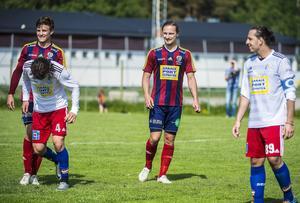 Fredrik Olofsson fick inte in bollen mot Hudik – och är nu avstängd nästa match.
