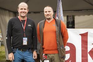Thomas Bylund och Johan Svenning.