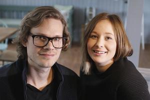 Emil Oldmark och Josefin Mörk får PH Lind-stipendiet.
