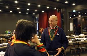 Stefan Mikaelsson, ordförande i Sametinget, är nöjd efter att ledamöterna kunde enas om en gemensam gruvpolitik.