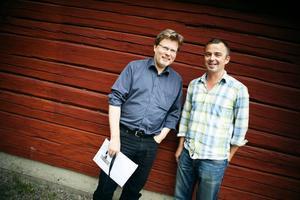 Mats Widlund och Tobias Carron. Bild: GD Arkiv