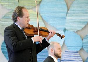 Bengt-Eric Norlén, violin och Stefan B Nilsson, piano,