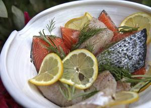Många fisksoppor vinner på att man blandar olika sorters fiskar.