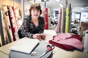 Textilens ägare Hjördis Fredriksson planerar att sälja både lokalen och verksamheten, och hon hoppas att Krokoms kommun ska hjälpa till att ge Krokomsporten ett lyft.