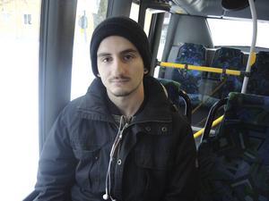 Bussresenären Rifat Latifi.