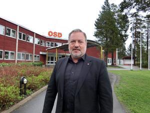 Robert Uitto (S), som kandiderar till ordförande i nämnden för regional utveckling.