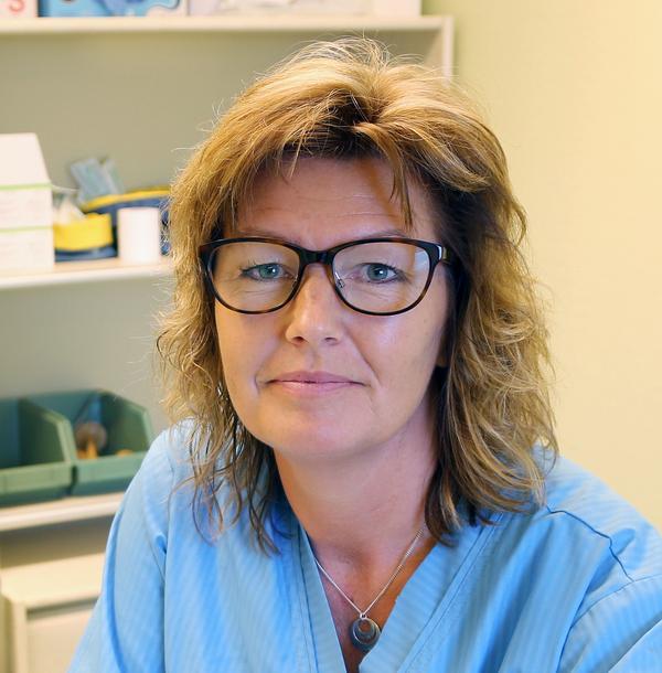 Stina Hedengran, verksamhetschef vid Fjällhälsan i Hede.