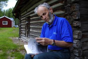 Minns fäbodlivet. Holger Åhman har skrivit en bok om livet på Åsens fäbod.