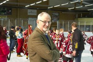 Rolf Laki, cupgeneral för Nicklas Lidström Cup.