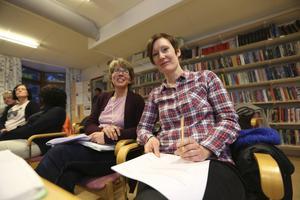 Mari Lööf Holm och Åsa Andersson, förskolelärare på Hosjöskolan