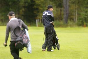 Isac Lambertsson var bästa spelare från hemmaklubben, Hudiksvalls golfklubb, med en 24:e plats.