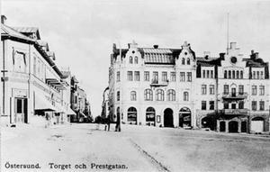 Stortorget i slutet av 1800-talet.