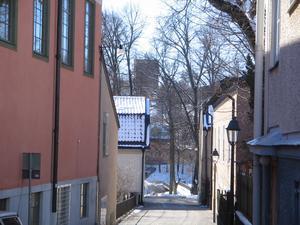 Fångade denna bild av en del av det gamla Västerås.