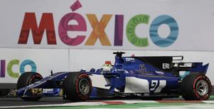 Marcus Ericsson trivs i Mexiko. I fjol var han elva på Hermanos Rodríguez-banan, och på lördagen tog han en 16:e-plats i kvalet.