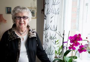 Milly Åkerlund, 90 år, den 23 februari.