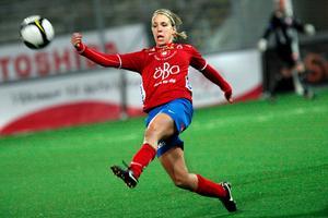 Elin Magnusson gjorde Kif Örebros mål mot Piteå.