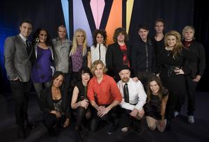 Första fjärdedelen av startfältet officiellt. Åtta artister i Melodifestivalen presenterades på tisdagen.