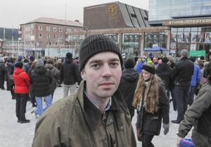 Länstidningens ledarskribent Kalle Olsson var med. Han tar vid nyår tjänstledigt för att kandidera till riksdagen för socialdemokraterna.