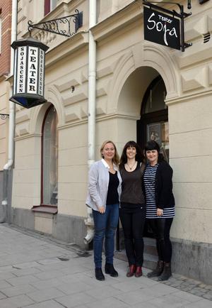 Anita Jacobson, Malin Berglund och Charlotte Stålgren bjuder in till invigningsveckan.