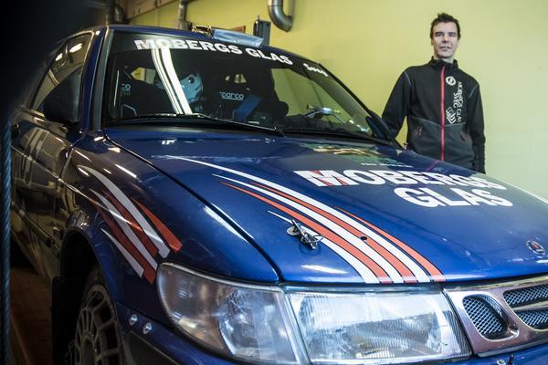 Magnus trivs bäst i en framhjusdriven rallybil