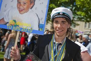 Johan Lännerström,19 år, Gävle:– Jag ska titta på fotbolls-VM.