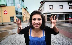 För ett drygt halvår sedan listades Lina Leandersson från Falun som en av världens hetaste vampyrer.FOTO: STAFFAN BJÖRKLUND