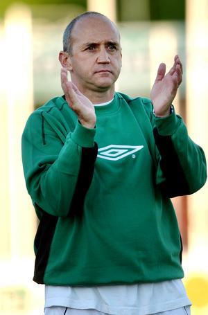 Richard Money under sin tid som tränare för VSK.