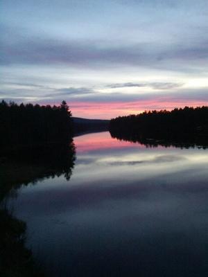 Ljusnan Mankellbron i Sveg Läsarbild: Stina Elfqvist