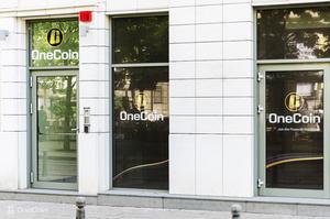 Bilden ovan är Onecoins egen och sägs föreställa bolagets kontor i Sofia, Bulgarien.