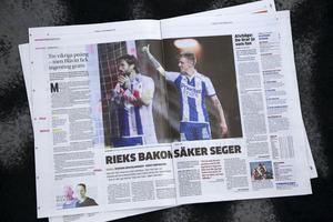 ÖFK får höga betyg i Göteborgs-Posten dagen efter 0–2-förlusten på bortaplan.