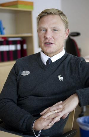 nöjd. Marko Friman, biträdande rektor på Bomhus 7-9 är nöjd med hur två skolor blivit en.