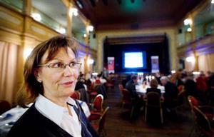 VD för Företagarna, Anna-Stina Nordmark Nilsson från Piteå, ser bensinmackarna och transportstödet som nödvändiga för att glesbygden ska överleva.