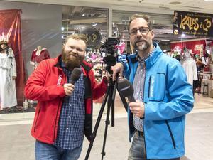 Simon Ridell och Jörgen Svendsen kommer att röra sig runt på Nian, passa på att ge ett jultips via dem.