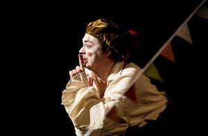 Clownen (Fredrik Ell) är det bästa med cirkusen.