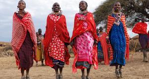 Delta i masaiernas projekt i Kenya.