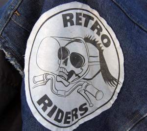 Klubben Retro Riders grundades för 14 år sedan och har idag 20 medlemmar.