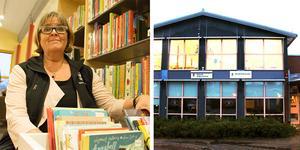 – Det är ju ens lilla skötebarn. Jag fixar och donar här varje dag, säger bibliotekarie Maria Berglind Wallmo på Hille bibliotek som ligger i Milboskolan.