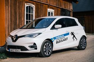 Att ladda bilen är smidigt och tar ingen extra tid från Eriks vardag, med hjälp av My Renault-appen.