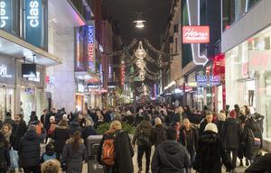Debattören anser att det är för många människor i Sverige. Foto: Fredrik Sandberg/TT